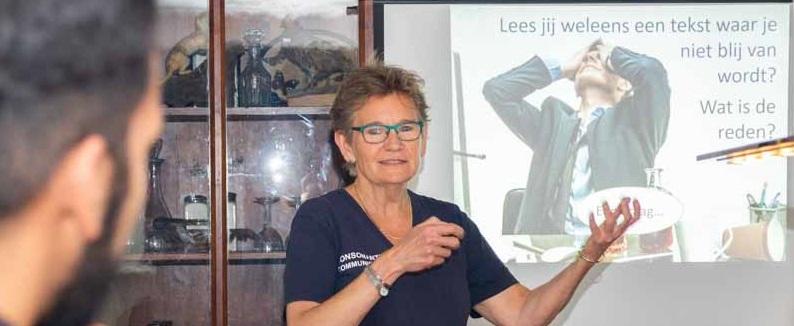 Marian Stoppelenburg, eigenaar van Consonante Communicatie